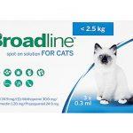 ブロードライン・スポットオン(猫用)はマダ二を駆除できる?口コミから効果と副作用、通販最安値を検証