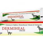 ダーミヒールクリーム(犬猫兼用)の口コミから細菌・真菌感染症への効果と副作用、通販最安値を検証