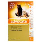 アドボケート(猫用)の口コミから効果的な使い方と副作用、通販最安値を検証
