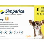 シンパリカ5mg・10mg・20mg[ゾエティス | サロラネル] | 犬のノミに10倍・マダニ・ニキビダニに3倍の新特効薬発売